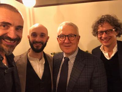 Giacomo Dall'Ava, Giovanni Costa, Alessandro Zaltron